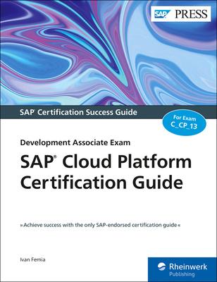 SAP Cloud Platform Certification Guide: Development Associate Exam-cover