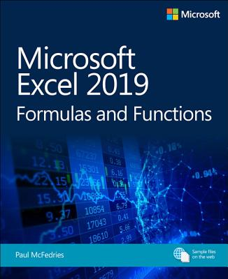 Microsoft Excel 2019 Formulas and Functions ( Business Skills ) (1ST ed.) -cover