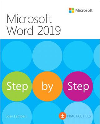 Microsoft Word 2019 Step by Step ( Step by Step ) (1ST ed.) -cover