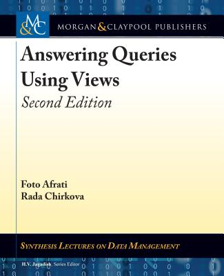 Answering Queries Using Views: Second Edition-cover