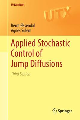 Applied Stochastic Control of Jump Diffusions-cover