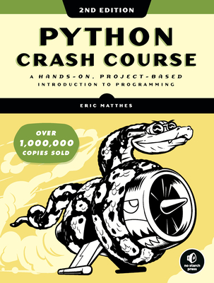 Python Crash Course, 2/e-cover