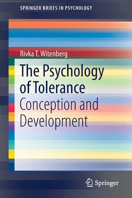 The Psychology of Tolerance: Conception and Development-cover