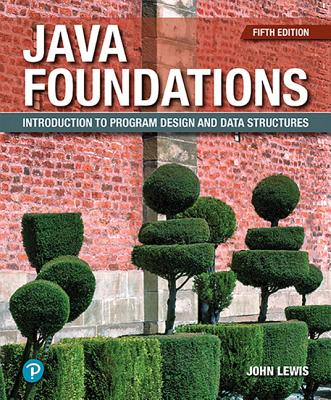 Java Foundations: Introduction to Program Design and Data Structures-cover