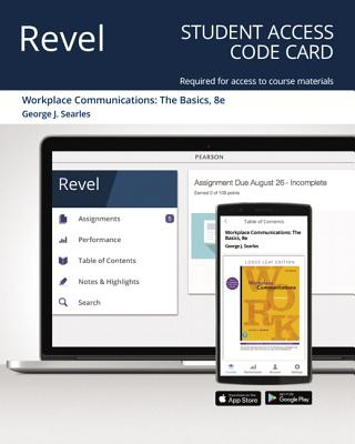 Revel for Workplace Communications: The Basics -- Access Card-cover