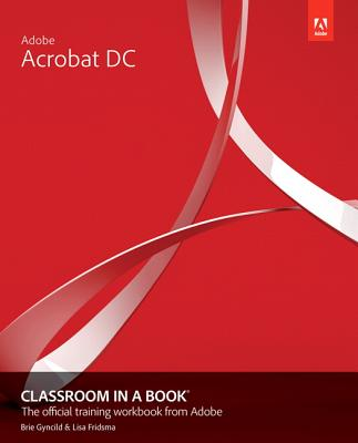 Adobe Acrobat DC Classroom in a Book-cover