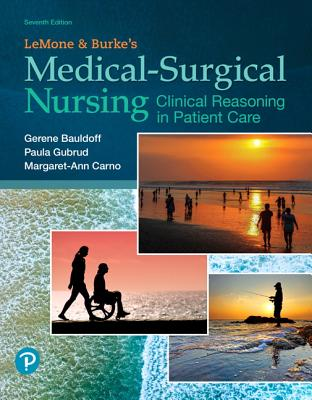 Lemone and Burke's Medical-Surgical Nursing: Clinical Reasoning in Patient Care-cover