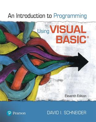 Introduction to Programming Using Visual Basic-cover