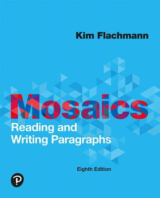 Mosaics: Reading and Writing Paragraphs-cover
