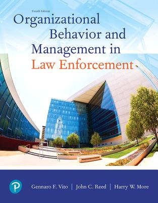 Organizational Behavior and Management in Law Enforcement-cover