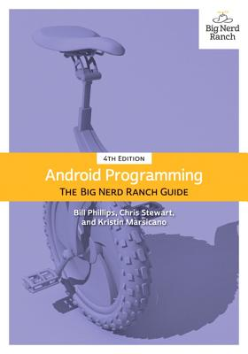 Android Programming: The Big Nerd Ranch Guide, 4/e (Paperback)-cover