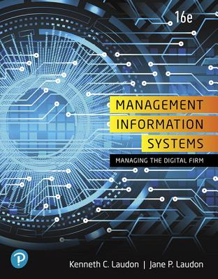 Management Information Systems: Managing the Digital Firm-cover