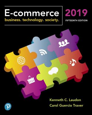 E-Commerce 2019: Business, Technology and Society-cover