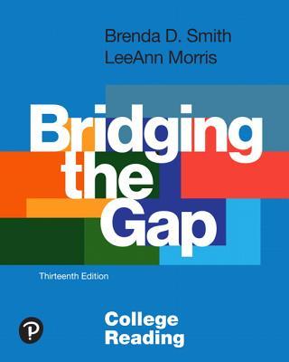 Bridging the Gap: College Reading-cover