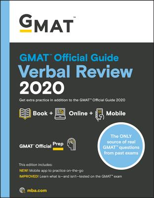 GMAT Official Guide 2020 Verbal Review: Book + Online Question Bank-cover