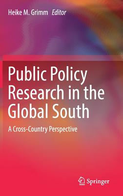 Public Policy Research in the Global South: A Cross-Country Perspective-cover