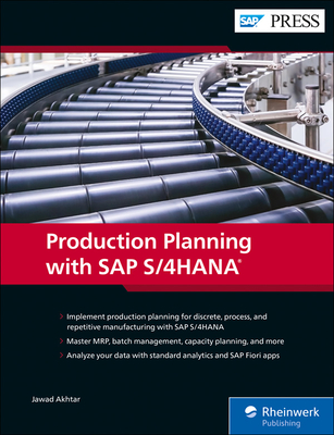 Production Planning with SAP S/4hana-cover