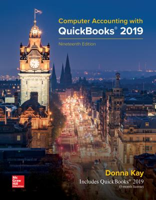 Computer Accounting with QuickBooks 2019-cover
