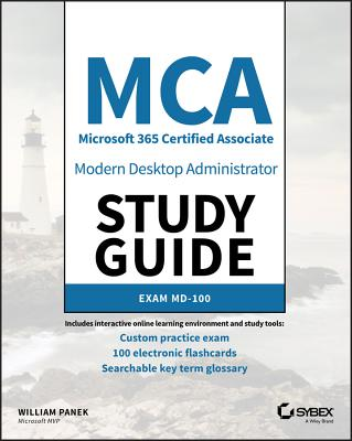 MCA Modern Desktop Administrator Study Guide: Exam MD-100-cover