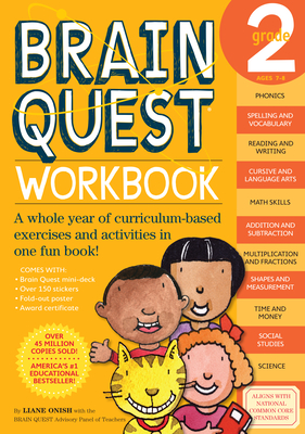 Brain Quest Workbook: Grade 2 [With Stickers]-cover