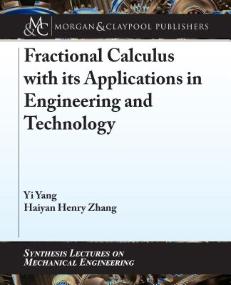 Fractional Calculus with Its Applications in Engineering and Technology-cover