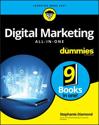 Digital Marketing All-In-One for Dummies-cover