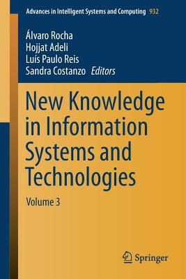 New Knowledge in Information Systems and Technologies: Volume 3-cover