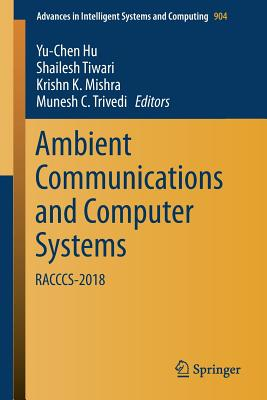 Ambient Communications and Computer Systems: Racccs-2018-cover