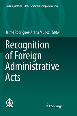 Recognition of Foreign Administrative Acts-cover