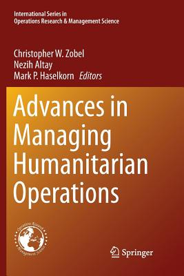 Advances in Managing Humanitarian Operations-cover