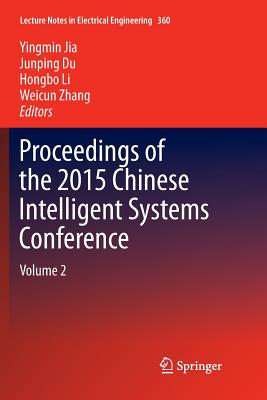 Proceedings of the 2015 Chinese Intelligent Systems Conference: Volume 2-cover