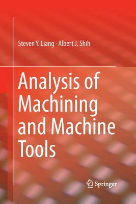 Analysis of Machining and Machine Tools-cover