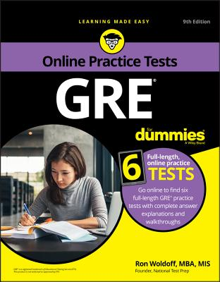 GRE for Dummies with Online Practice-cover