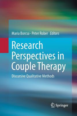Research Perspectives in Couple Therapy: Discursive Qualitative Methods-cover