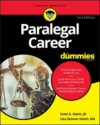 Paralegal Career for Dummies-cover