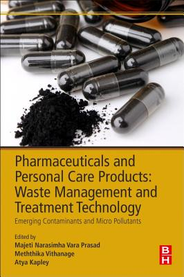 Pharmaceuticals and Personal Care Products: Waste Management and Treatment Technology: Emerging Contaminants and Micro Pollutants-cover