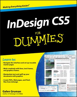 InDesign CS5 for Dummies-cover