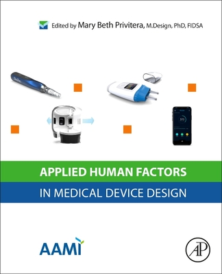 Applied Human Factors in Medical Device Design-cover