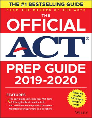 The Official ACT Prep Guide, (Book + Bonus Online Content)-cover