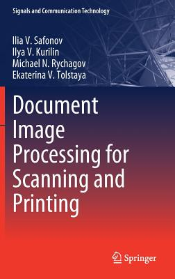 Document Image Processing for Scanning and Printing-cover