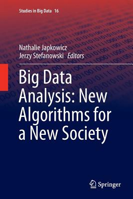 Big Data Analysis: New Algorithms for a New Society-cover