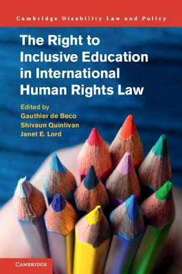 The Right to Inclusive Education in International Human Rights Law-cover
