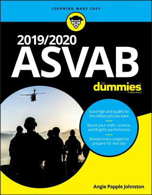 2019/2020 ASVAB for Dummies-cover