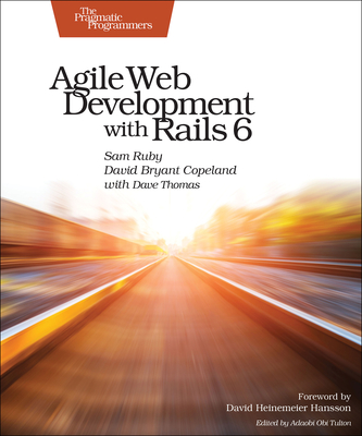 Agile Web Development with Rails 6-cover
