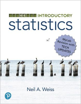 Introductory Statistics, Mylab Revision, Loose-Leaf Edition-cover