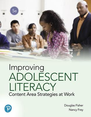 Improving Adolescent Literacy: Content Area Strategies at Work-cover