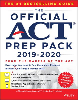 The Official ACT Prep Pack with 7 Full Practice Tests (5 in Official ACT Prep Guide + 2 Online)-cover