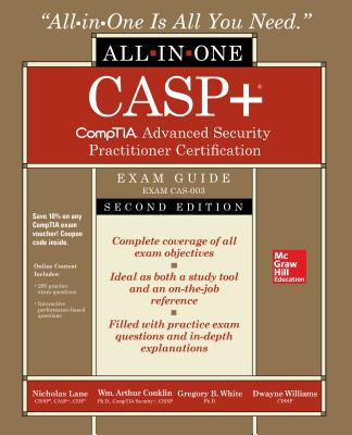CASP+ Comptia Advanced Security Practitioner Certification All-In-One Exam Guide, Second Edition (Exam Cas-003)-cover