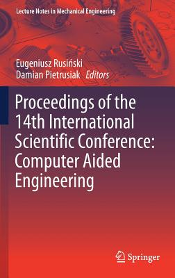 Proceedings of the 14th International Scientific Conference: Computer Aided Engineering-cover