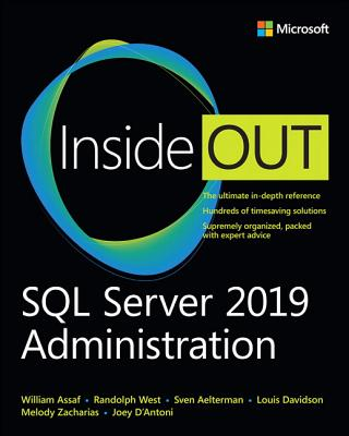 SQL Server 2019 Administration Inside Out-cover